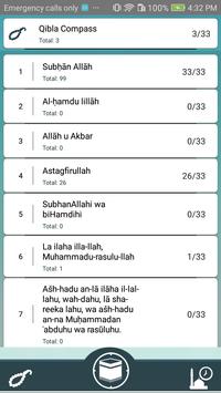 Arah kiblat with Salah Times, qibla compass screenshot 2
