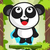 panda jump hero icon