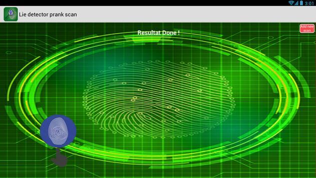 Lie Detector Prank Scan screenshot 7