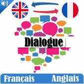 Dialogue français anglais icon