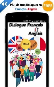 Dialogue français anglais poster