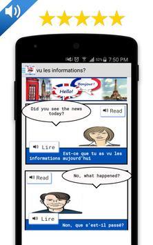 Dialogue français anglais screenshot 4
