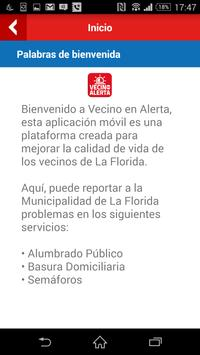 Vecino en Alerta La Florida screenshot 2