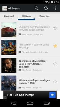 News for PS4 apk screenshot