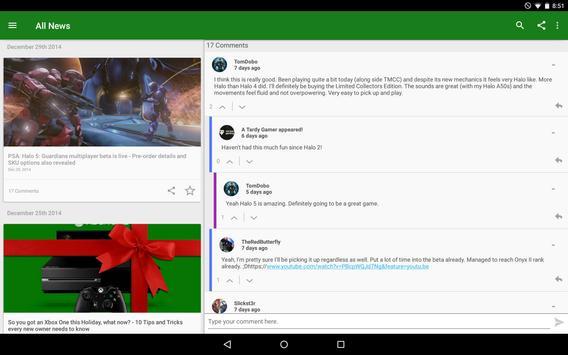 News for Xbox One apk screenshot
