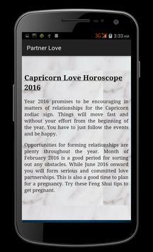 Capricorn Horoscope 2016 screenshot 4