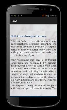 Pisces Horoscope 2016 apk screenshot