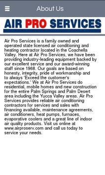 Air Pro Services screenshot 1