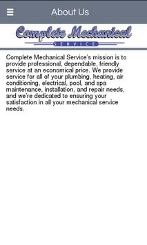 Complete Mechanical Service poster