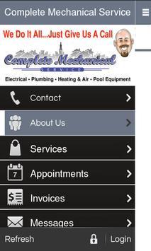 Complete Mechanical Service apk screenshot