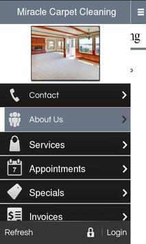 Miracle Carpet Cleaning apk screenshot