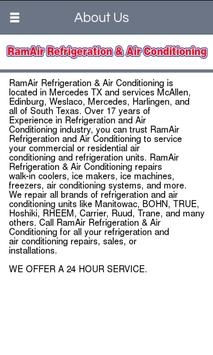 RamAir Refrigeration & Air Con screenshot 1