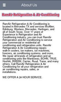 RamAir Refrigeration & Air Con apk screenshot