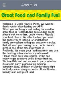 Uncle Howies Pizza Inc apk screenshot