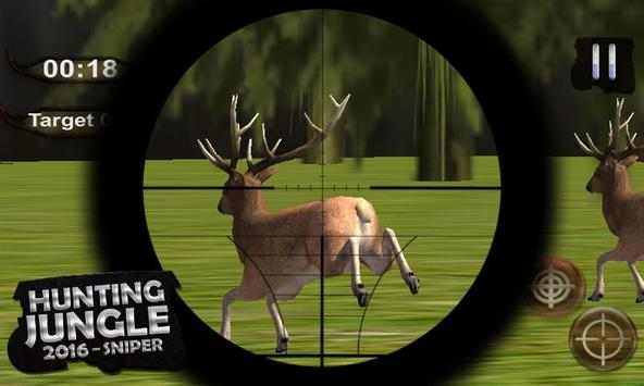 Hunting Jungle – 2016 Sniper screenshot 1