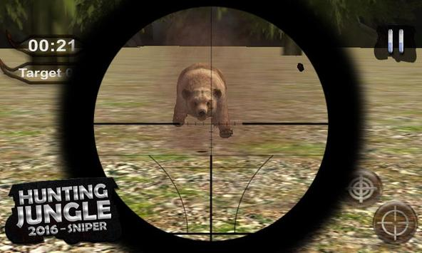 Hunting Jungle – 2016 Sniper screenshot 4