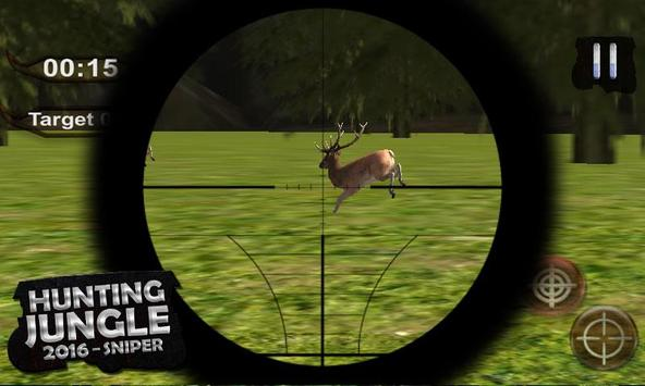 Hunting Jungle – 2016 Sniper screenshot 5