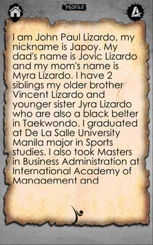 Japoy Lizardo apk screenshot