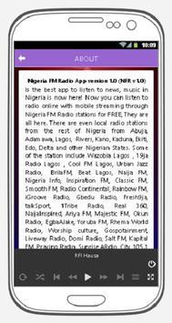 Nigeria FM Radio screenshot 3