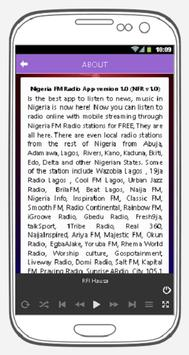 Nigeria FM Radio screenshot 9