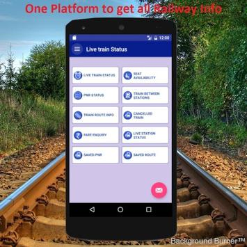 Live Indian Rail Train Info poster