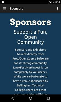 LinuxFest Northwest apk screenshot