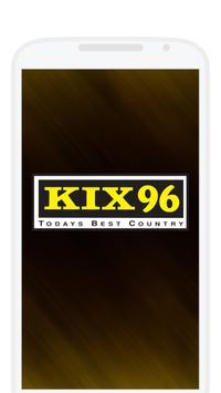 KIX 96 FM poster
