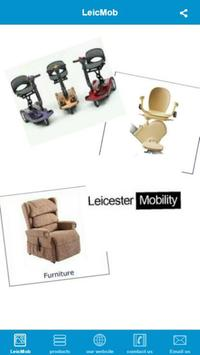 Leicester Mobility poster
