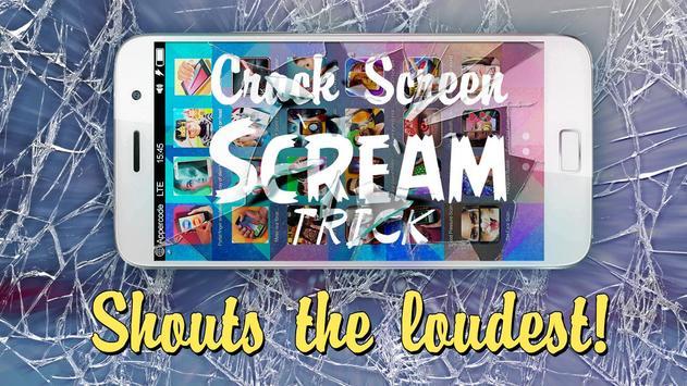 Crack Screen Scream trick apk screenshot