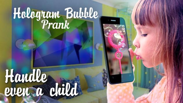 Hologram Bubble Prank poster