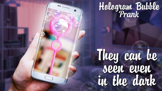 Hologram Bubble Prank apk screenshot