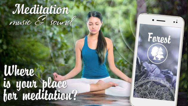 Meditation music and sound apk screenshot