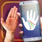 Prediction Palm Scan Prank icon