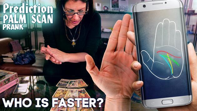 Prediction Palm Scan Prank poster