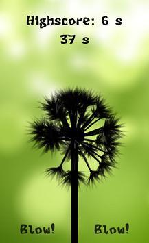 Dandelion Blow poster