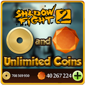 Gems for Shadow Fight 2 prank icon