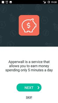 Apperwall - make money online poster
