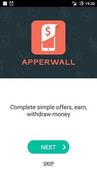 Apperwall - make money online screenshot 1