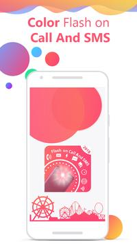 Flash on Call and SMS: Color flash on call and sms screenshot 5