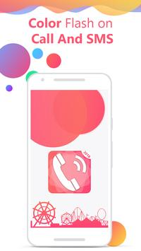 Flash on Call and SMS: Color flash on call and sms screenshot 6