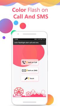 Flash on Call and SMS: Color flash on call and sms screenshot 2