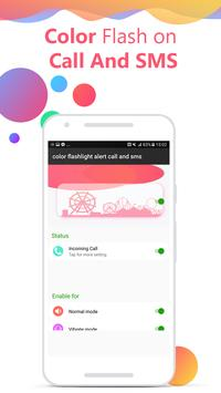 Flash on Call and SMS: Color flash on call and sms screenshot 3