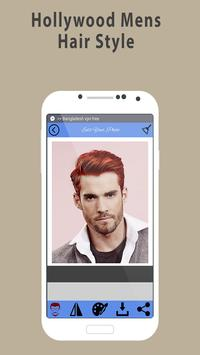 Man hairstyle photo editor:New hair style 2018 poster
