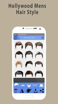 Man hairstyle photo editor:New hair style 2018 screenshot 1
