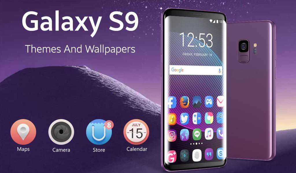 Samsung S9 Theme And Wallpapers Galaxy S9 Launcher For Android Apk Download