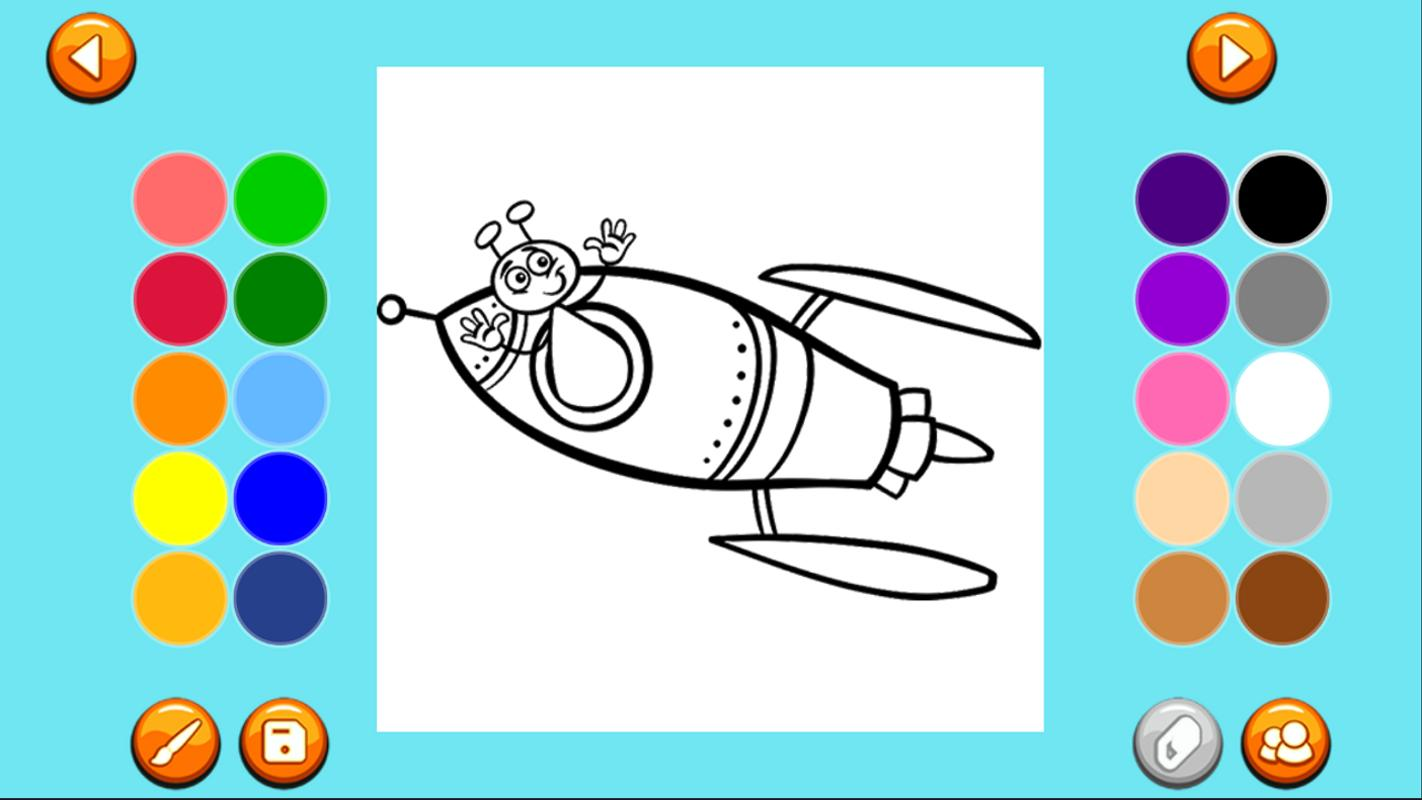 Coloring Book Monster Amp Aliens APK Download