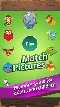 Match Pictures of Animals poster