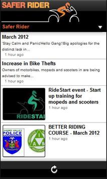 Safer Rider screenshot 1