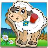 Kids Peg Puzzle - Free Toddler Shape Games icon