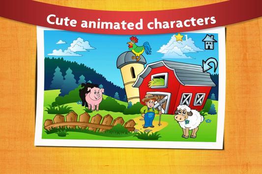 Kids Peg Puzzle - Free Toddler Shape Games poster
